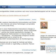 amazon Autorenseite erstellen