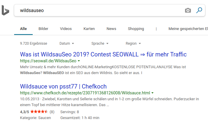 bing wildsauseo