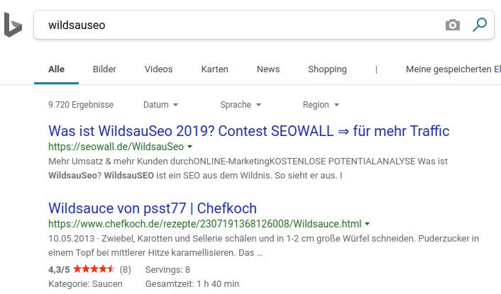 bing wildsauseo