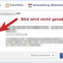 [HowTo] Facebook Vorschaubild wird nicht angezeigt – cache löschen