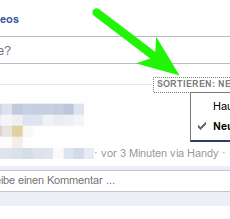 [HowTo] facebook zeigt nur alte Meldungen in timeline